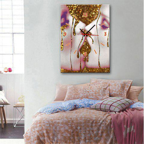 Special Design Frame Paintings Kissing Print - multicolor 9 X 13 INCH (24CM X 34CM)
