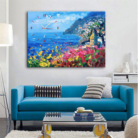 Special Design Frame Paintings Facing the Ocean Print - multicolor 20 X 14 INCH (50CM X 35CM)