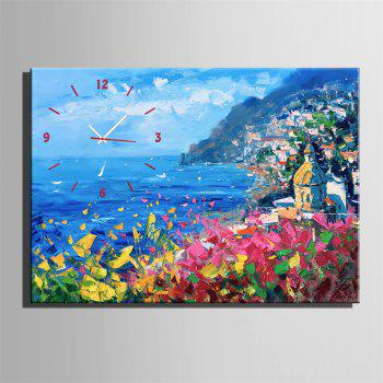 Special Design Frame Paintings Facing the Ocean Print - multicolor 24 X 16 INCH (60CM X 40CM)
