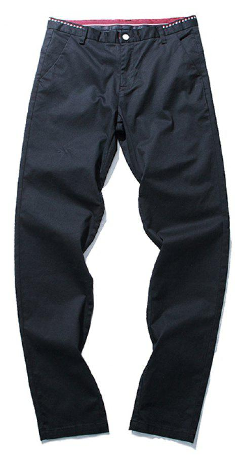 Summer Men's Fashion Pants and Casual Pants - BLACK 36