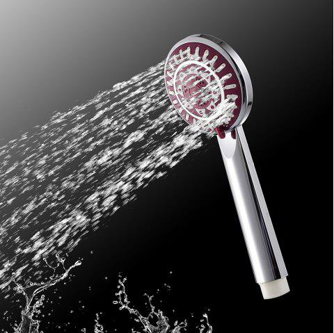 Handheld Water-Saving Pressure Rain Shower Head 53C - SILVER