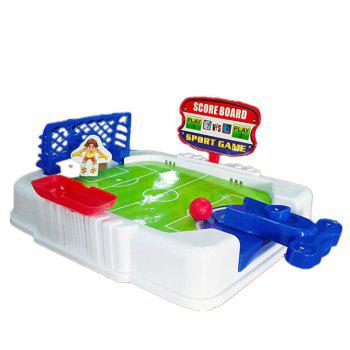 Finger Plays Game Football Field Interactive Puzzle Desktop Toy - multicolor