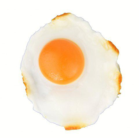 Fried Egg Refrigerator Magnet - multicolor A