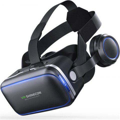 Headset with Remote Controller 3D Glasses Virtual Reality Headset for VR Games - BLACK