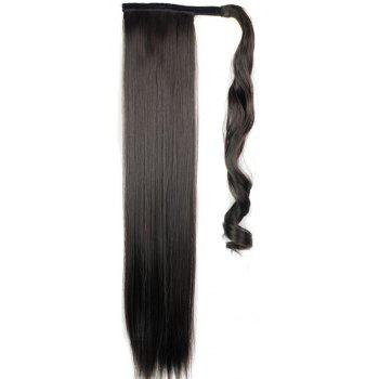 Long Straight Synthetic Wrap Around Ponytail Hairpieces Hair Extension For Women by Dress Lily