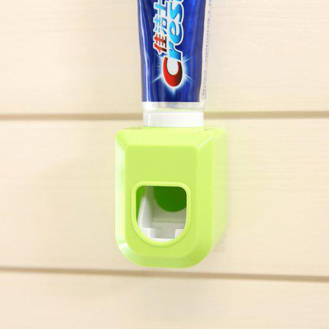 Automatic  Toothpaste  Dispenser - GREEN YELLOW