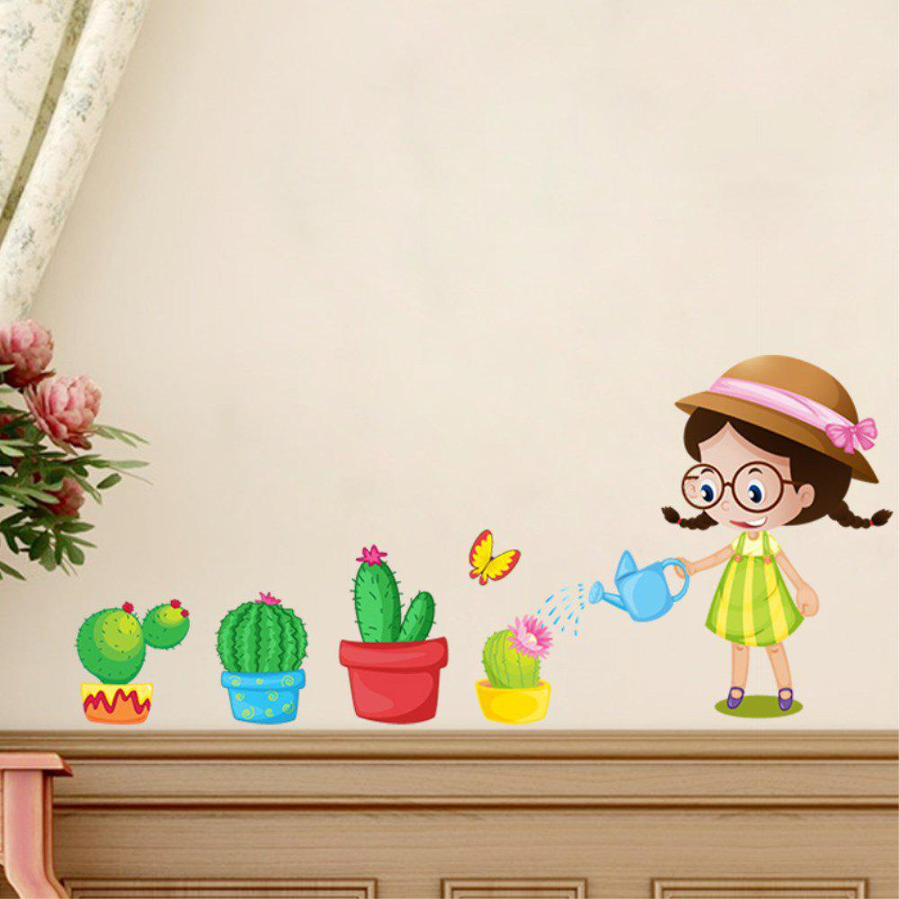 Creative Decoration Cartoon 3D Flower Wall Sticker все цены