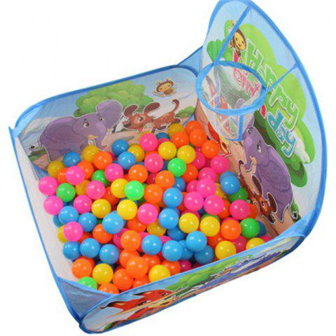 Receive A Fold Ball Pool Indoor Children Tent - multicolor B