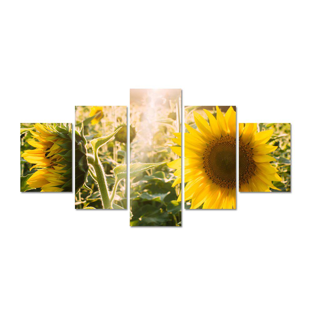 2018 W324 Sunflowers Unframed Wall Canvas Prints for Home ...