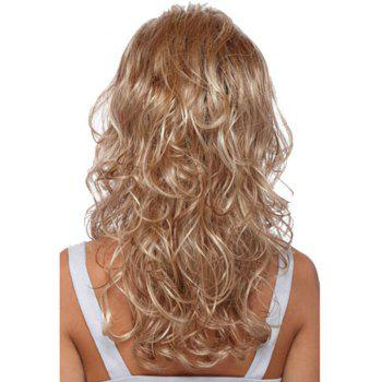 Gold Big Wave Long Curly Hair - GOLD 26INCH