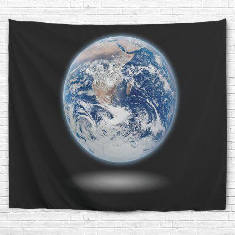 Earth 3D Printing Home Wall Hanging Tapestry for Decoration - multicolor A W153CMXL130CM