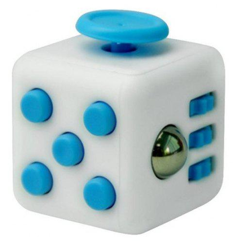 Unlimited Decompression  Cube Antianxiety Fret Decompression Dice Toys - DAY SKY BLUE