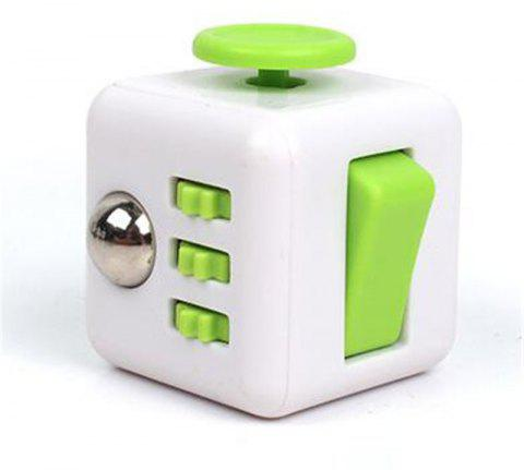Unlimited Decompression  Cube Antianxiety Fret Decompression Dice Toys - GREEN