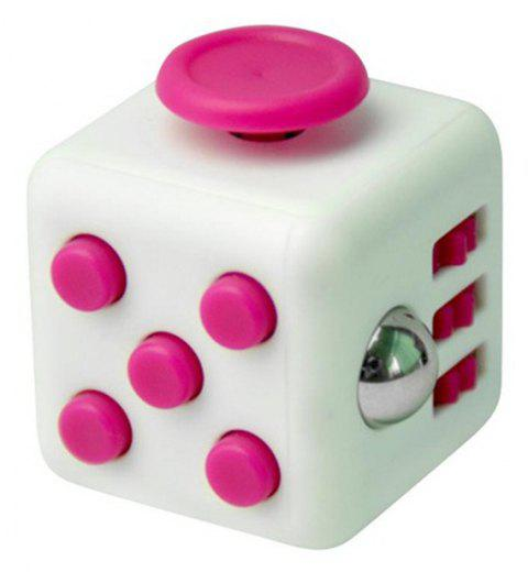 Unlimited Decompression  Cube Antianxiety Fret Decompression Dice Toys - HOT PINK