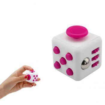 Unlimited Decompression Rubik Cube Antianxiety Fret Decompression Dice Toys - HOT PINK