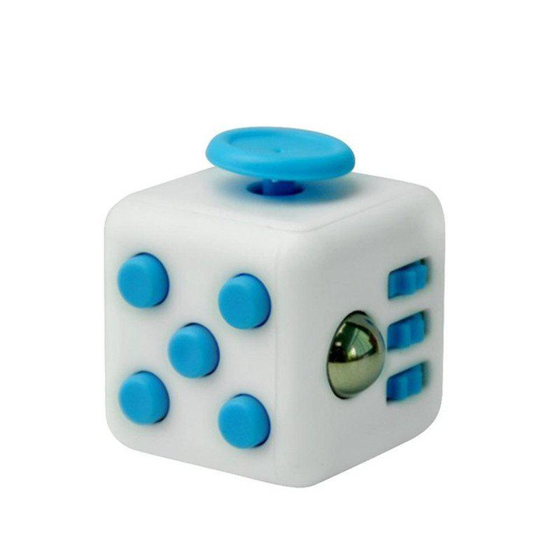 Unlimited Decompression Rubik Cube Antianxiety Fret Decompression Dice Toys - DAY SKY BLUE