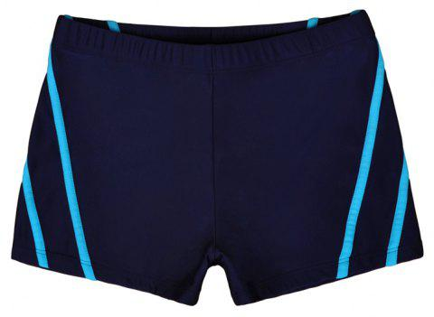 Man City Boy Seaside Holiday Boxer Swimming Trunks - DEEP BLUE L