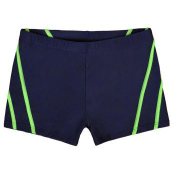 Man City Boy Seaside Holiday Boxer Swimming Trunks - NAVY BLUE L
