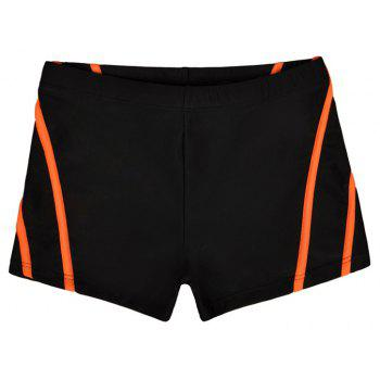 Man City Boy Seaside Holiday Boxer Swimming Trunks - NATURAL BLACK 2XL