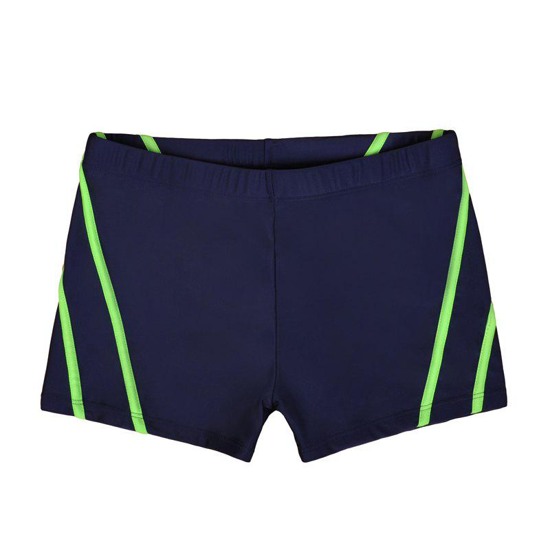 Man City Boy Seaside Holiday Boxer Swimming Trunks - NAVY BLUE XL