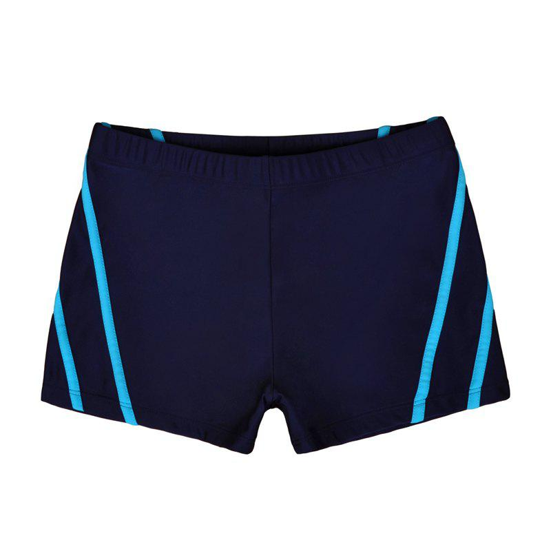 Man City Boy Seaside Holiday Boxer Swimming Trunks - DEEP BLUE XL