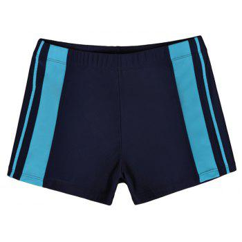 Men's Professional Boxer Hot Spring Fashion Swimming Trunks - DEEP BLUE L