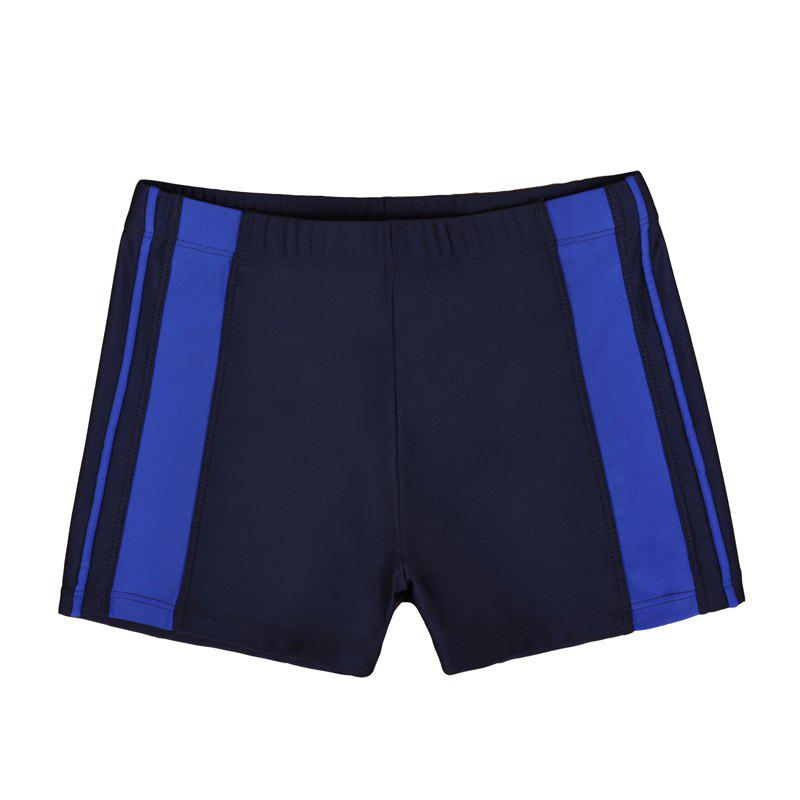 Men's Professional Boxer Hot Spring Fashion Swimming Trunks - NAVY BLUE L