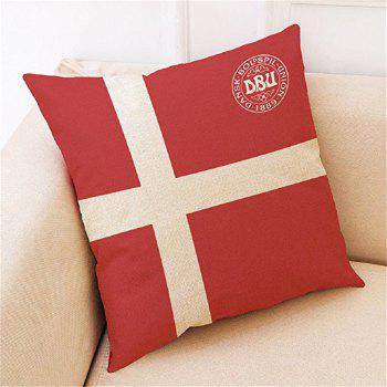 Home Decor Cushion  Soccer Fans Souvenir - multicolor A 45CMX45CM