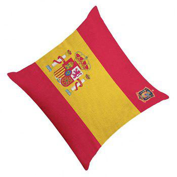 Home Decor Cushion  Soccer Fans Souvenir - multicolor W 45CMX45CM