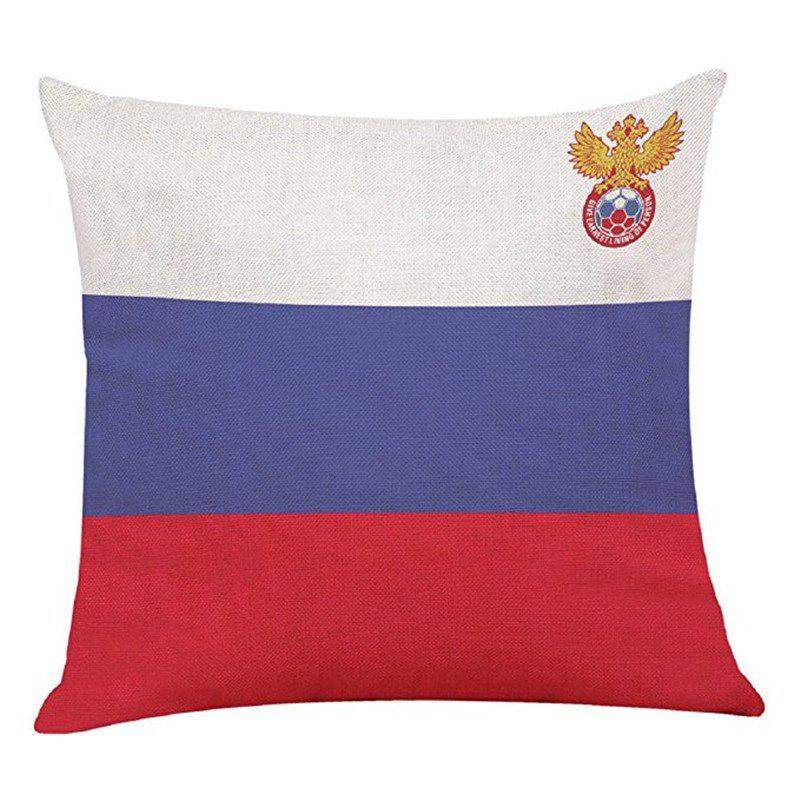 Home Decor Cushion  Soccer Fans Souvenir - multicolor E 45CMX45CM