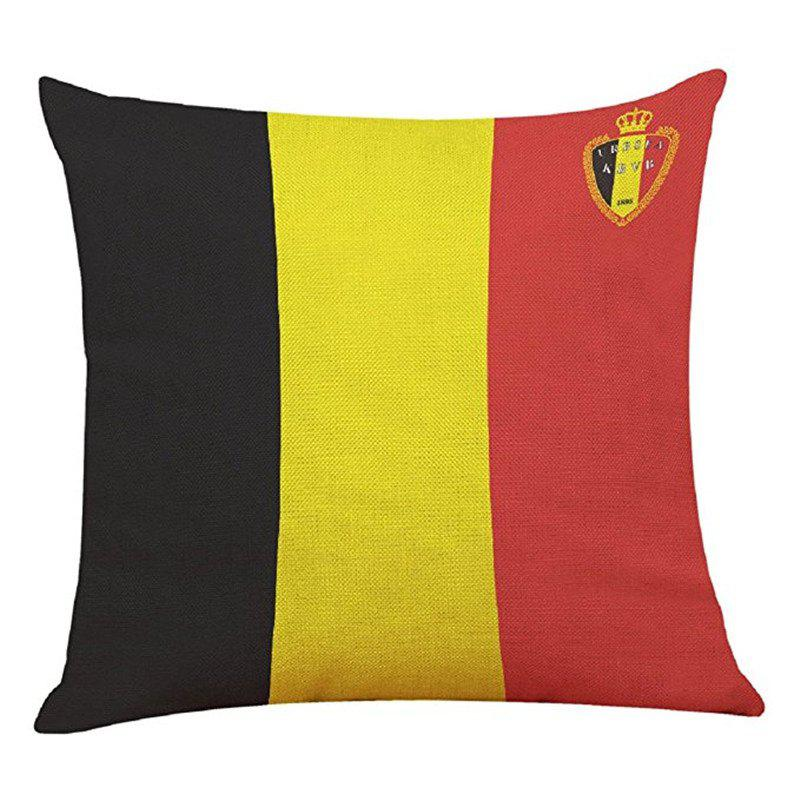 Home Decor Cushion  Soccer Fans Souvenir - multicolor L 45CMX45CM