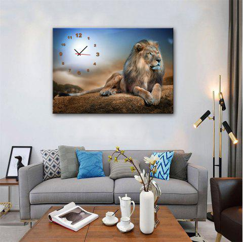 Special Design Frame Paintings King of Forest Print - multicolor 16 X 11 INCH (40CM X 28CM)
