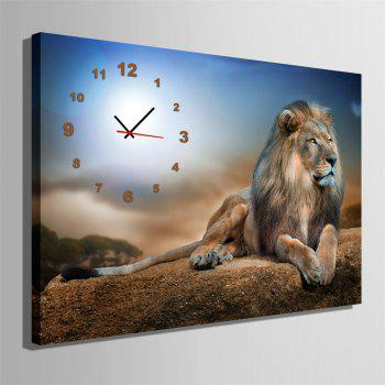 Special Design Frame Paintings King of Forest Print - multicolor 24 X 16 INCH (60CM X 40CM)