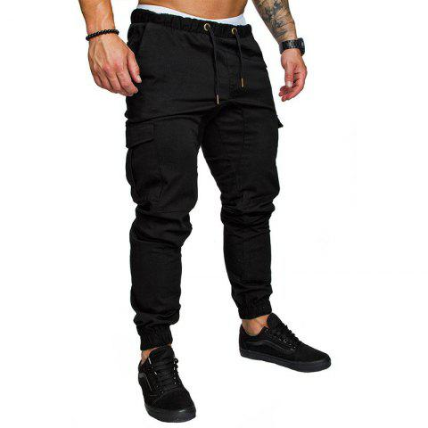 ddbd4bd9f25 LIMITED OFFER  2019 Leisure Tethers Elastic Pants Men s Trousers In ...