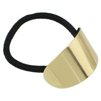 Silver Gold-color Metal Sheet Headbands Hair Jewelry - GOLD