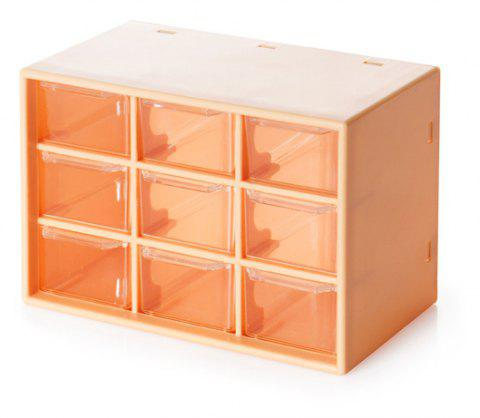 Household Jewelry  Travel Storage  Box - GOLDEN BROWN