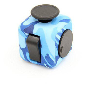 Decompression Rubik Cube Relieve Pressure Creative Toys - NAVY CAMOUFLAGE
