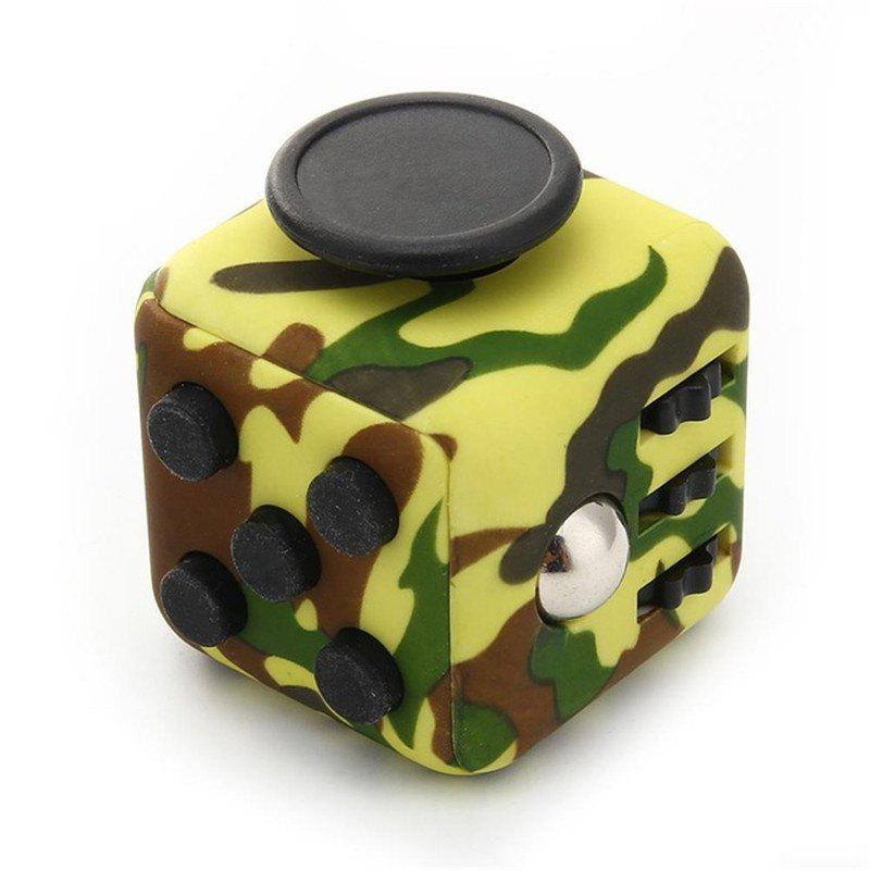Decompression Rubik Cube Relieve Pressure Creative Toys - WOODLAND CAMOUFLAGE