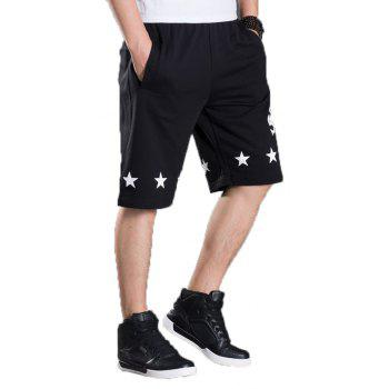 Summer Hot Selling Men's Shorts - BLACK 5XL