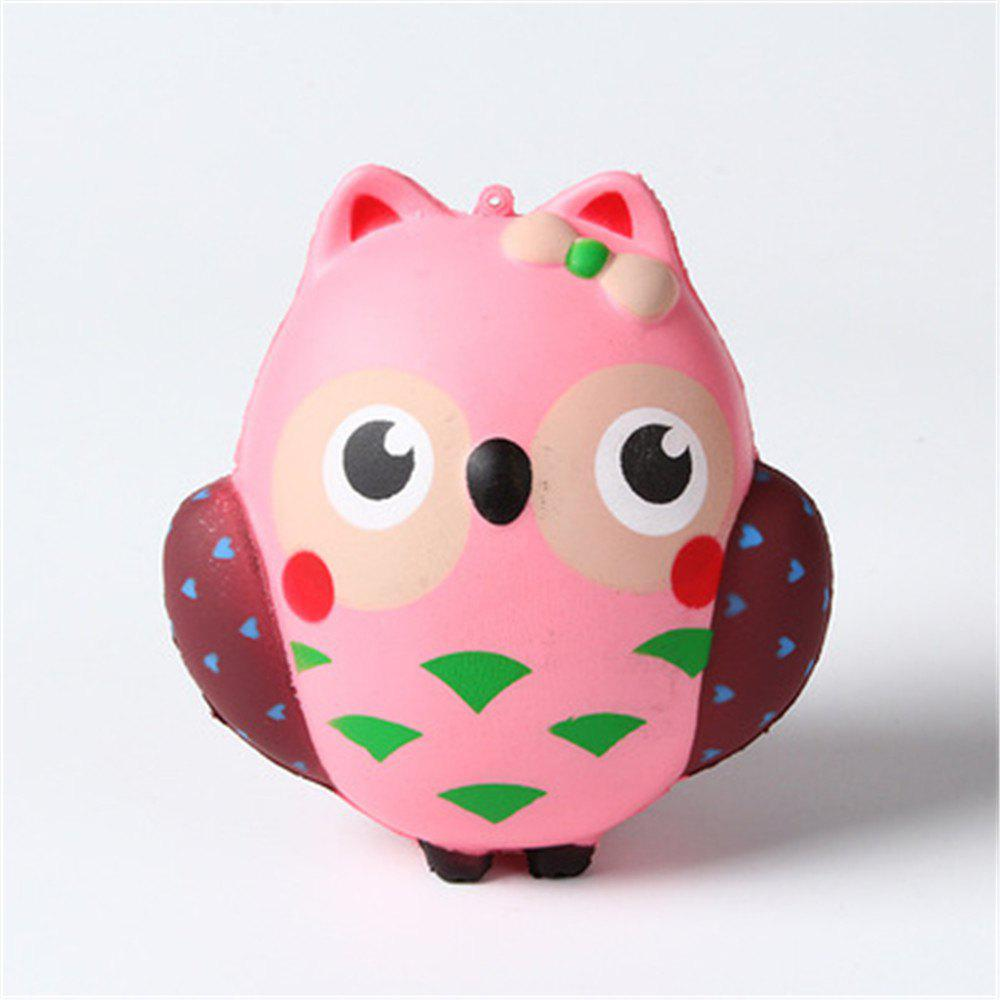Jumbo Squishy Slow Rebound Toy Owl owl clockwork toy