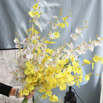 Artificial Plants Lifelike Delicate Home Decorative Flowers - YELLOW LENGTH:91CM