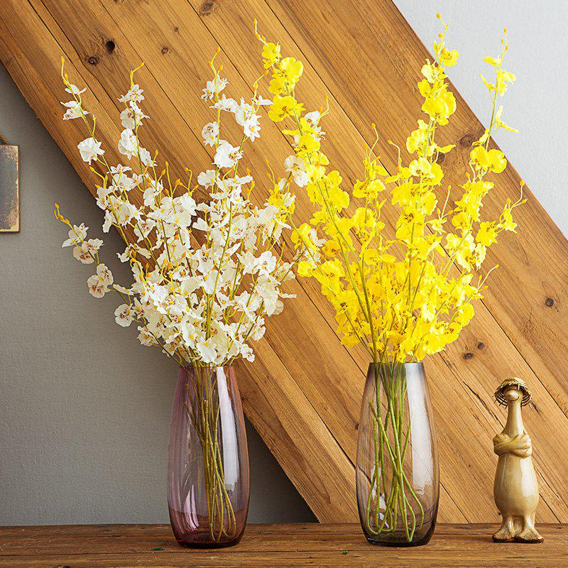 Artificial Plants Lifelike Delicate Home Decorative Flowers - WHITE LENGTH:91CM