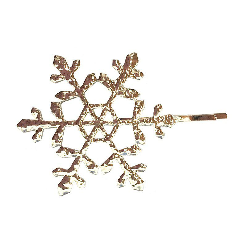 New Europe and The United States Simple Metal Hollow Snowflake Hairpin катушка безынерционная shimano catana 3000srb