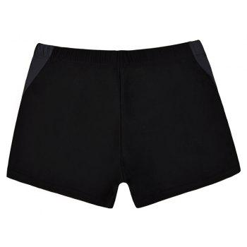 Men's Casual And Comfortable Boxer Swimming Trunks - BLACK L