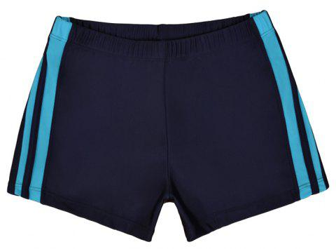 Waterproof Breathable Quick-Drying Swimming Trunks - DEEP BLUE L