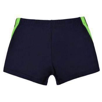 Waterproof Breathable Quick-Drying Swimming Trunks - MIDNIGHT BLUE XL
