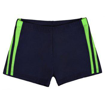Waterproof Breathable Quick-Drying Swimming Trunks - MIDNIGHT BLUE 2XL