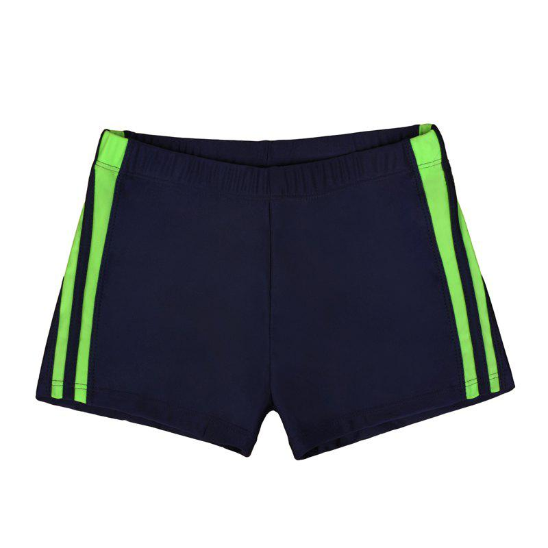 Waterproof Breathable Quick-Drying Swimming Trunks - MIDNIGHT BLUE L