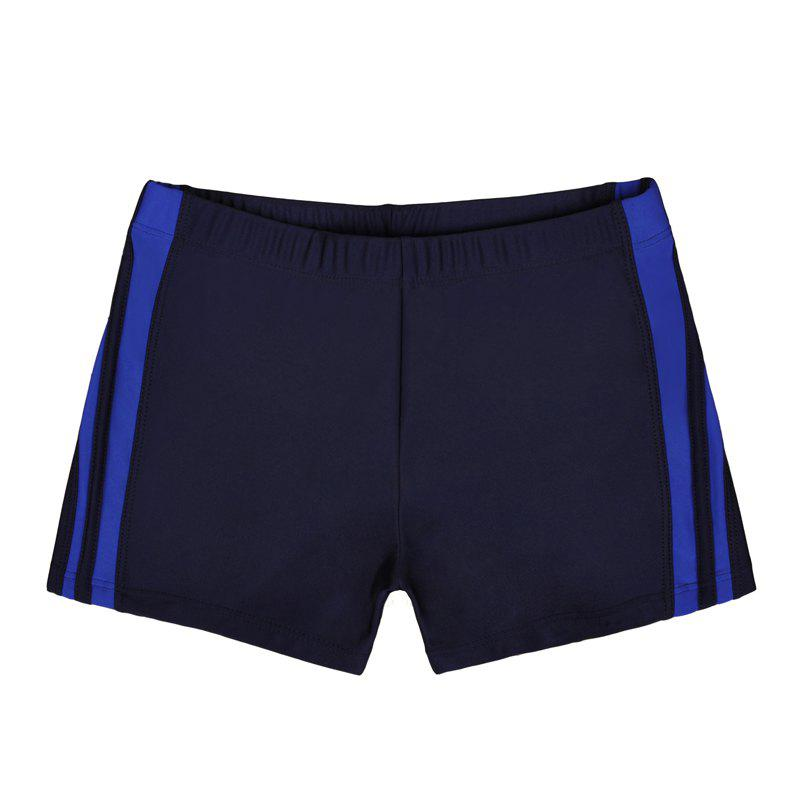 Waterproof Breathable Quick-Drying Swimming Trunks - NAVY BLUE 2XL