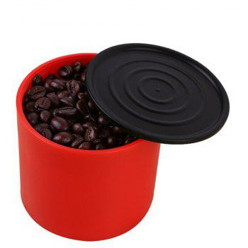 Household Mini Portable American Coffee Grinder - RED